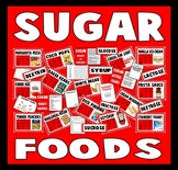 SUGAR TEACHING RESOURCES KS2 DISPLAY FOOD TECHNOLOGY HEALTHY EATING SCIENCE