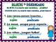 SUJETOS Y PREDICADOS / SUBJECT AND PREDICATE IN SPANISH