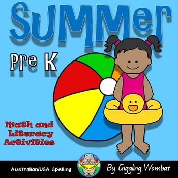 SUMMER Math and Literacy Activities