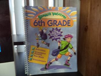 SUMMER ACTIVITY BOOK     6TH GRADE