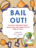 SUMMER BAIL OUT Staff Morale Booster