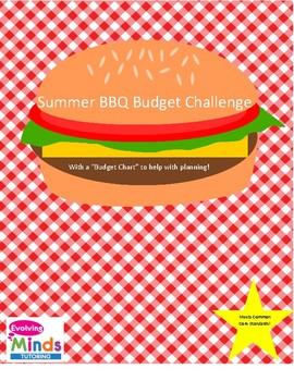 SUMMER BBQ BUDGET ACTIVITY