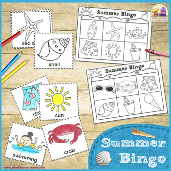 SUMMER BINGO - Printable Game