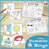SUMMER BINGO - Printable Game