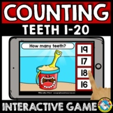 SUMMER BOOM CARDS MATH ACTIVITY KINDERGARTEN COUNT OBJECTS TO 20 ASSESSMENT GAME