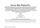 SUMMER Bible Reading Plan 2019 - JUNE - AUGUST