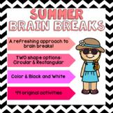 SUMMER Brain Breaks [Brain Gym]