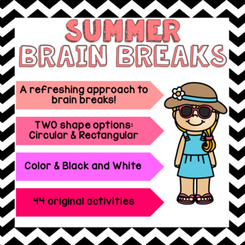 SUMMER Brain Breaks [Brain Gym]