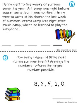 SUMMER Brain Teasers & Logic Puzzles