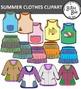 SUMMER CLOTHES CLIP ART