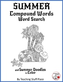 SUMMER COMPOUND WORDS ... Word Search Grades 3-4-5