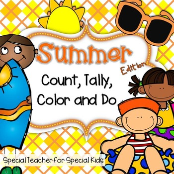 SUMMER  Color, Count, Tally and Do
