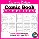 SUMMER Comic Book & Graphic Novel Templates // Personal & Limited Commercial Use