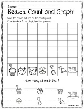 SUMMER Count, Graph, and Color!