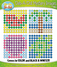 SUMMER Dab-A-Dot Mystery Images Clipart {Zip-A-Dee-Doo-Dah Designs}