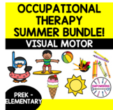 SUMMER FINE MOTOR occupational therapy resource bundle vis