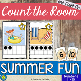 SUMMER FUN Math Center: Count the Room 1 - 10
