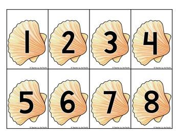 SUMMER FUN Math Center: Count the Room 1 - 10
