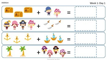 SUMMER FUN Review Pack - Week 1 Pirates!