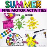 SUMMER Fine Motor Activities Packet