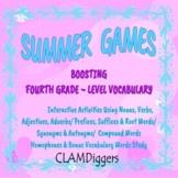SUMMER GAMES: Boosting Fourth Grade-Level Vocabulary