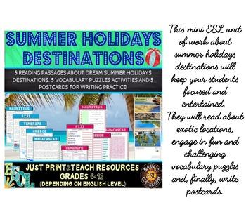 SUMMER HOLIDAYS (ESL) BUNDLE