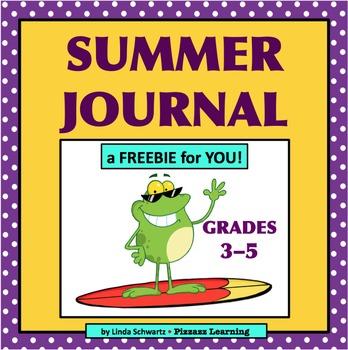 SUMMER JOURNAL FREEBIE