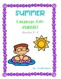SUMMER Language Arts Bundle! Grades 1 - 3