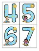 SUMMER Large Numbers 0-20 - Make Activities, Flashcards and Room Decor