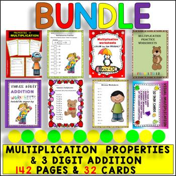 BACK TO SCHOOL- MATH FUN ACTIVITY - BUNDLE $AVE 50% OFF - 3rd Grade