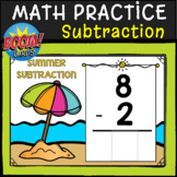 MATH SUBTRACTION FLUENCY BOOM CARDS