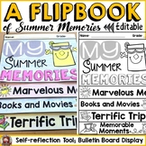 MY SUMMER MEMORIES: A WRITING FLIPBOOK