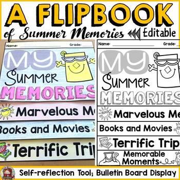 MY SUMMER MEMORIES: A WRITING FLIPBOOK