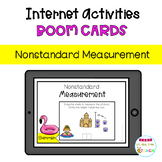 SUMMER Nonstandard Measurement. Distance Learning. Boom Cards