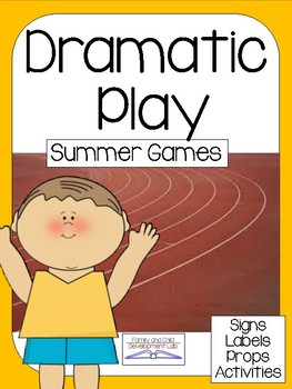 SUMMER OLYMPIC Dramatic Play Center (ATHLETICS)
