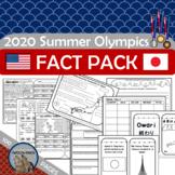 2020 2021 SUMMER OLYMPICS FUN FACT PACK Reading Writing Pr