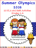 SUMMER OLYMPICS 2016 - 20 Reading Comprehension Activities