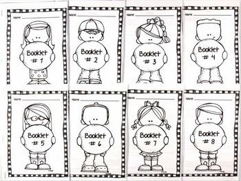 SUMMER PACKET - 4th Grade Math & Language Art  Booklets / Anchor Charts