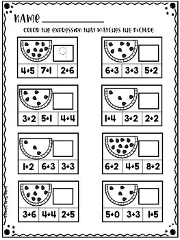 SUMMER Perfect Practice for Addition