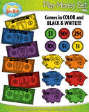 SUMMER Playing Money Clipart {Zip-A-Dee-Doo-Dah Designs}