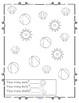 SUMMER Number Printables NO PREP for Preschool and Kindergarten