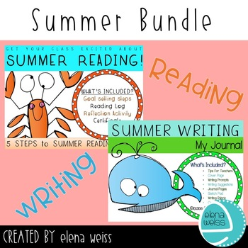 SUMMER READING AND WRITING BUNDLE