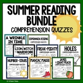 SUMMER READING COMPREHENSION for upper elementary
