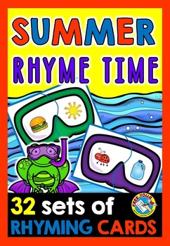 RHYMING WORDS ACTIVITY: SUMMER LITERACY CENTER