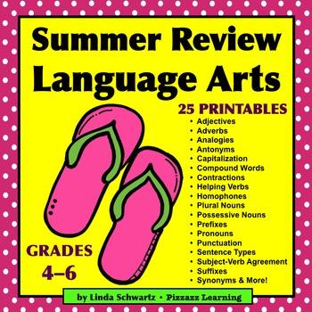 SUMMER REVIEW • LANGUAGE ARTS
