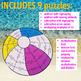 SUMMER SCHOOL ACTIVITIES - THIRD GRADE MATH CENTERS - BEACH MATH - BEACHBALL