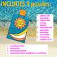 SUMMER SCHOOL ACTIVITIES - THIRD GRADE - MATH CENTERS - BEACH MATH - SUNBLOCK