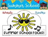 SUMMER SCHOOL HATS/ CROWNS/ AWARDS