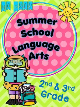 SUMMER SCHOOL LANGUAGE ARTS  {2ND & 3RD GRADE} - NO PREP