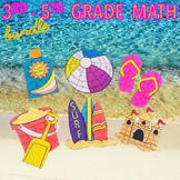 SUMMER SCHOOL MATH REVIEW 3RD GRADE 4TH GRADE 5TH GRADE ACTIVITIES & CENTERS